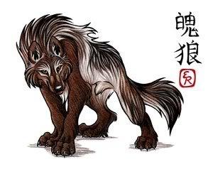Werewolf's Wisper: Da OnexOnexOne XD Graybrownwolf