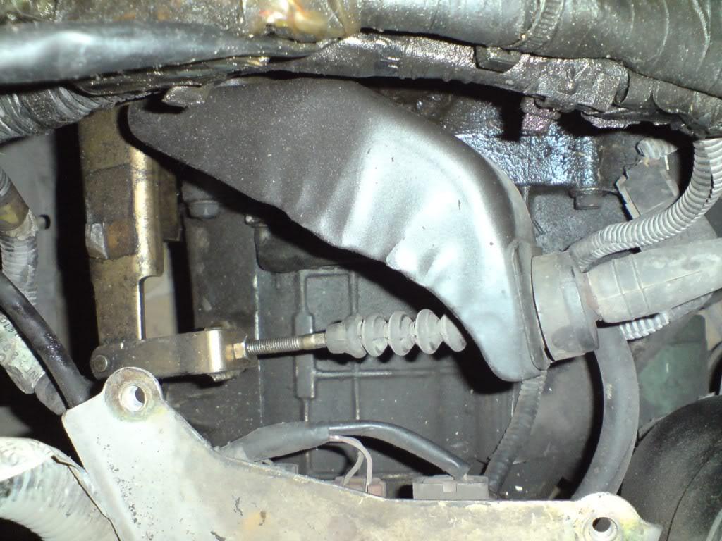 Cambio de chicote de Clutch de Nissan 2000GSR Chkt12