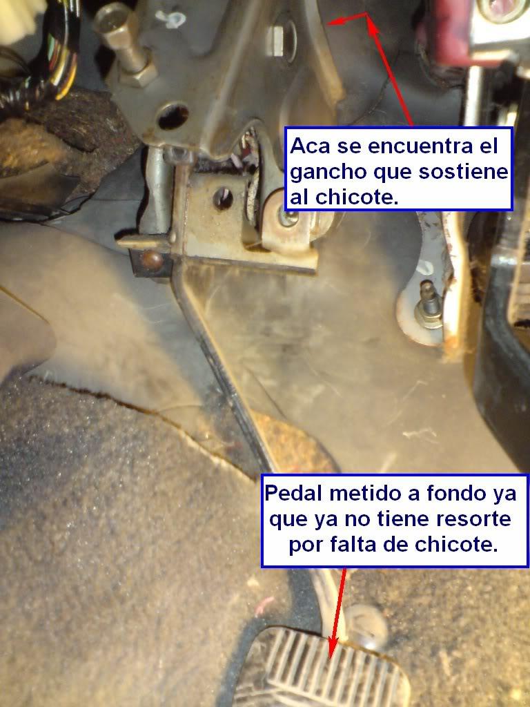 Cambio de chicote de Clutch de Nissan 2000GSR Chkt17