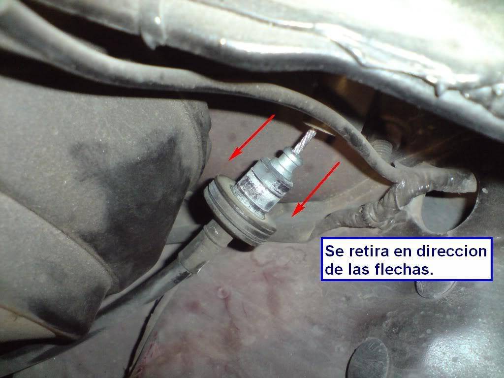 Cambio de chicote de Clutch de Nissan 2000GSR Chkt18