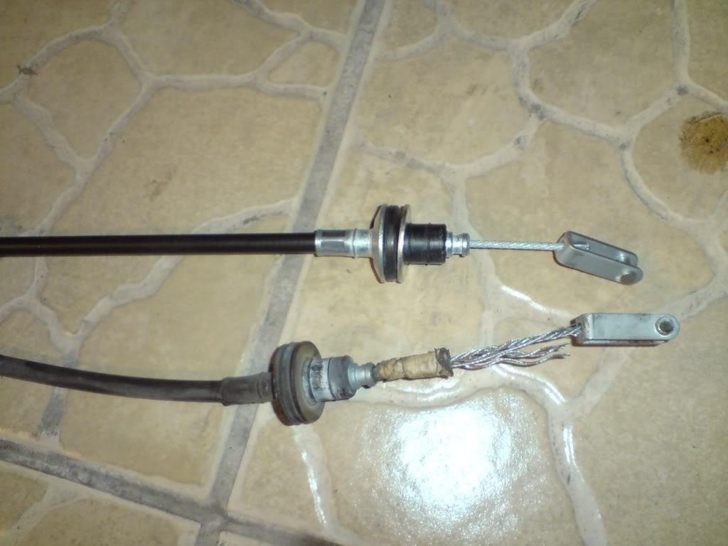 Cambio de chicote de Clutch de Nissan 2000GSR Chkt20
