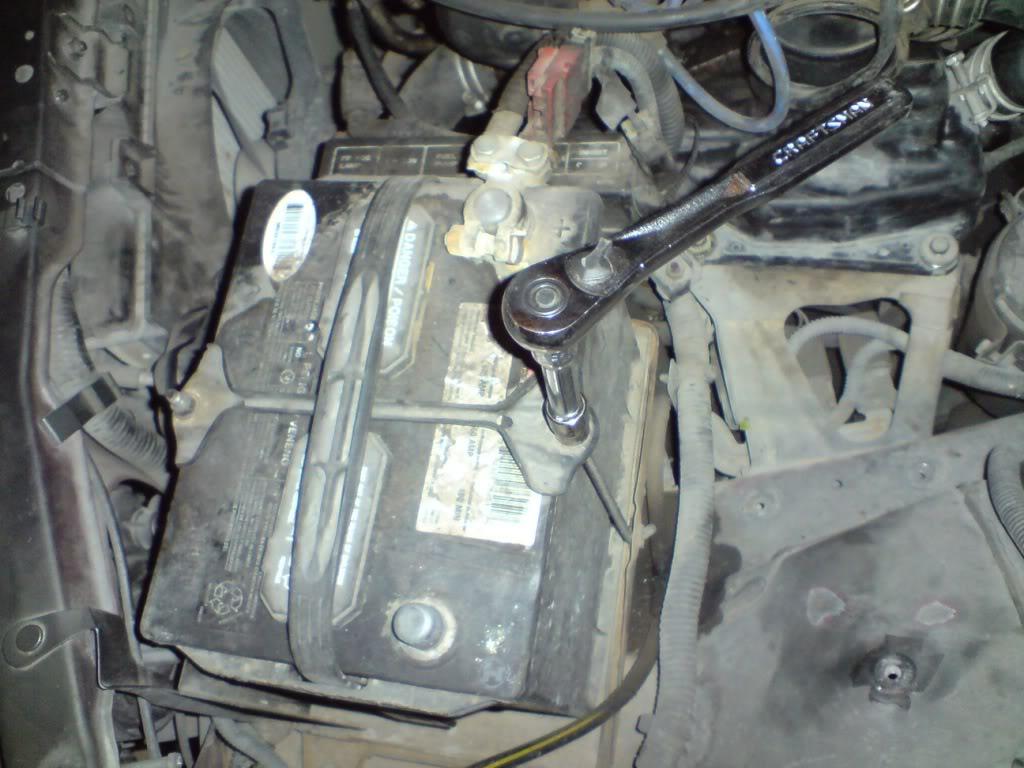 Cambio de chicote de Clutch de Nissan 2000GSR Chkt9