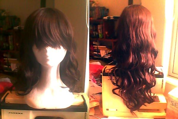 [seller] Tails' wig clear out! Brown