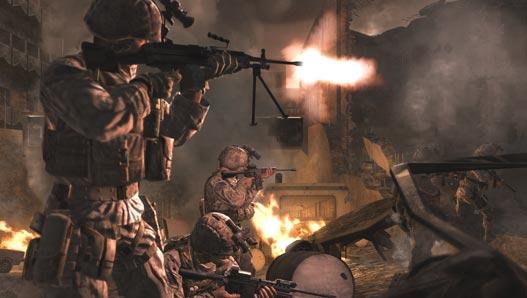 Inscrição para treinor COD Modern Warfare Call-of-duty-4
