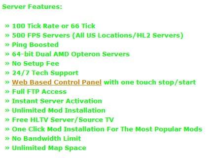 Servers Update! Server
