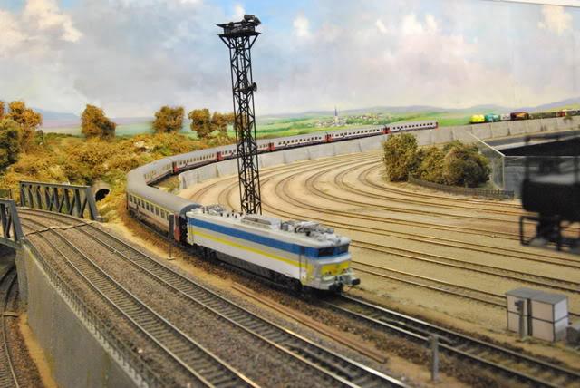 Les compositions voyageurs sur la Ligne du Nord 1980 -2011 en H0 202