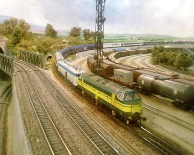 Les compositions voyageurs sur la Ligne du Nord 1980 -2011 en H0 55-1