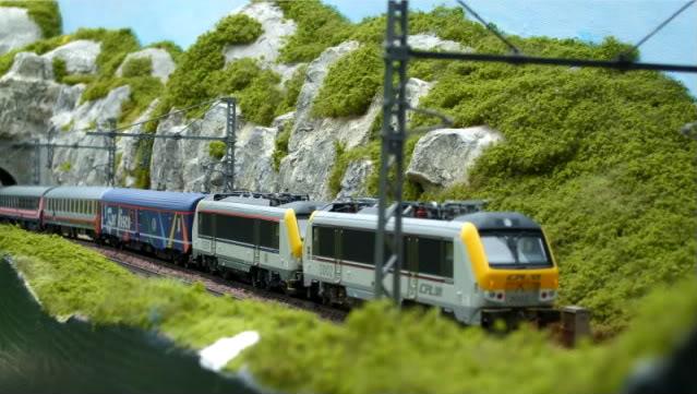 Les compositions voyageurs sur la Ligne du Nord 1980 -2011 en H0 Doppia