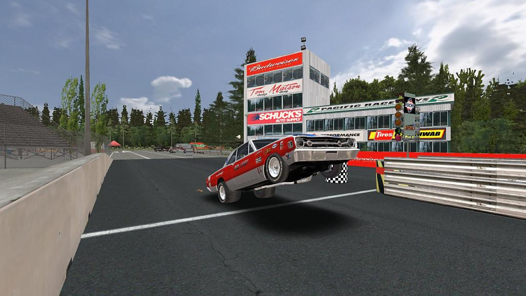 hmm...wheelies in GTR2 ;-) DickLandySeattle