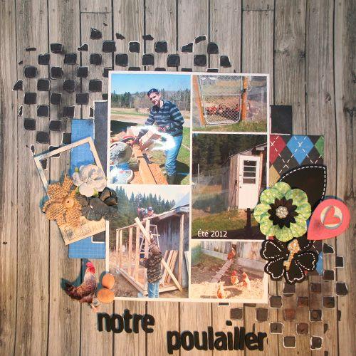 Mes pages du week-end nov 2014 Notre-poullailler