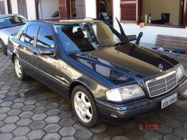 Vendo C 280, Sport, Preta, 121.000 km - R$ 25.000,00 - VENDIDA DSC04416