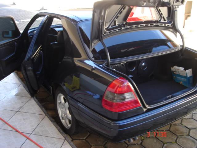 Vendo C 280, Sport, Preta, 121.000 km - R$ 25.000,00 - VENDIDA DSC04420