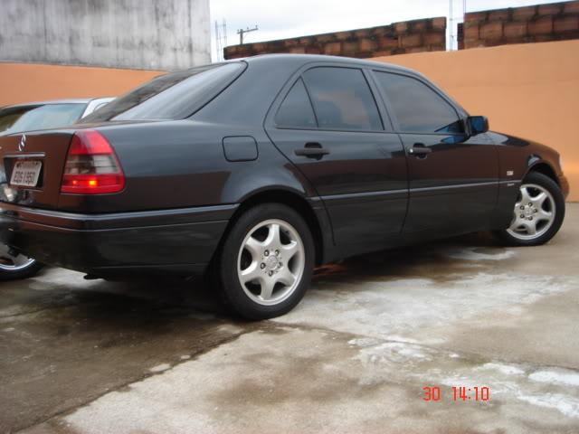 Vendo C 280, Sport, Preta, 121.000 km - R$ 25.000,00 - VENDIDA DSC04468