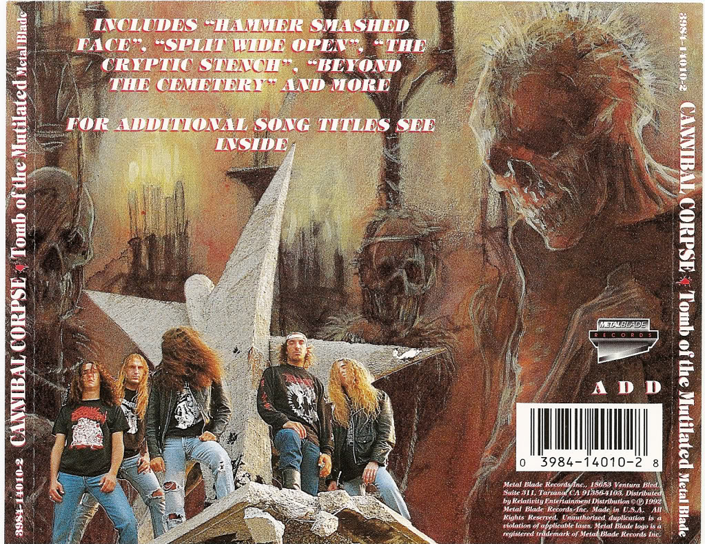 Cannibal Corpse - Tomb Of The Mutilated 0004