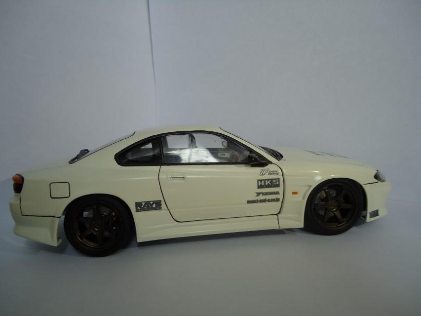 Nissan Silvia s15 Aoshima Bb338ecd2a210365d7f18a0151ee6931