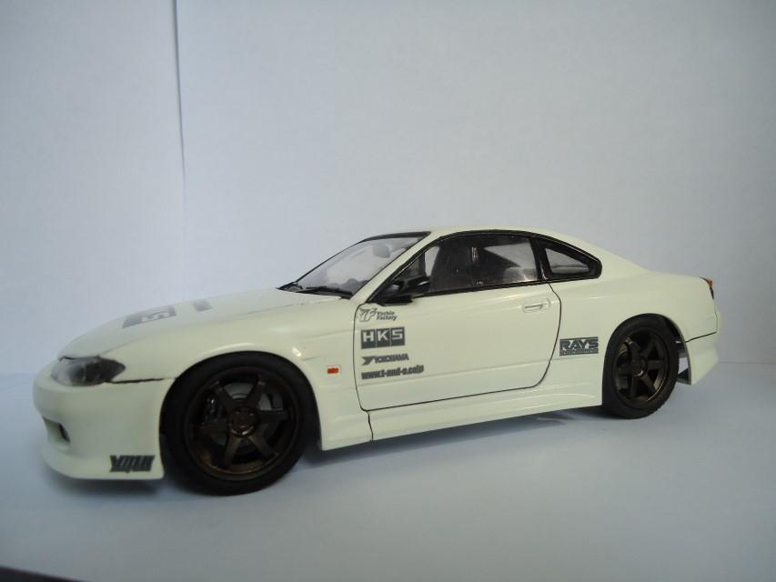 Nissan Silvia s15 Aoshima 7953235d8c9c2bcd6221934cbb19b7b5