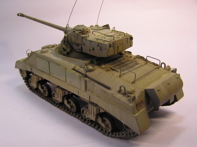 Egyptian Sherman M4/Fl10 P1010048