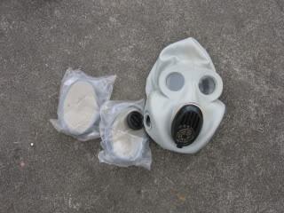 Chest Rig e mascara de gás Russos IMG_0866