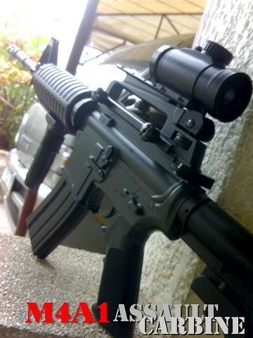 M4/M16's M4A1