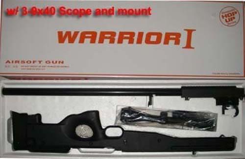 CAT'S OFFICIAL GUN RUNNER L96warrior