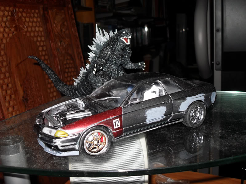 Scale Plastic Model Thread Godzilla1