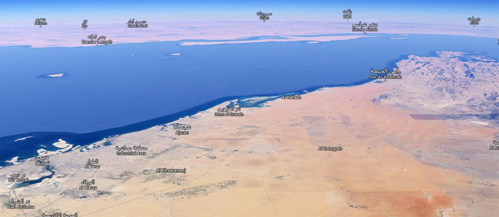 Dubai-Mumbai - O caminho do deserto Map_00