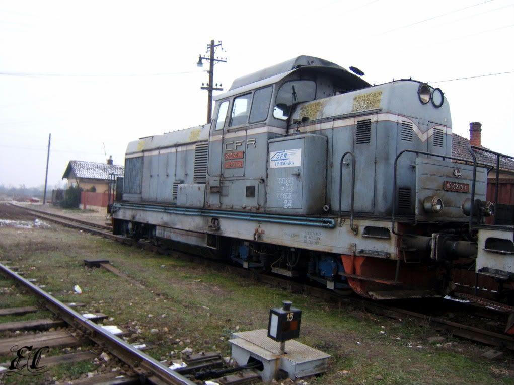 80-0270-1 CFR Calatori ( inchiriata sau cumparata de RegioTrans) 80-0270-1
