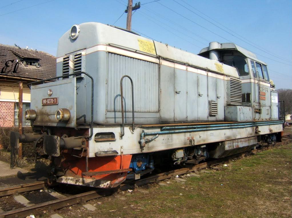 80-0270-1 CFR Calatori ( inchiriata sau cumparata de RegioTrans) 80-0270-1I
