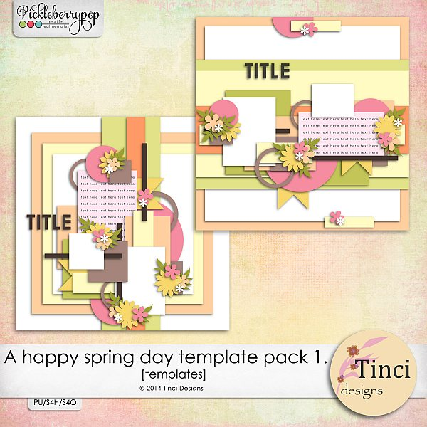A happy spring day - Pickle barrel March 21. Tinci_AHSD_Templates1_prev_zps4f634b8c