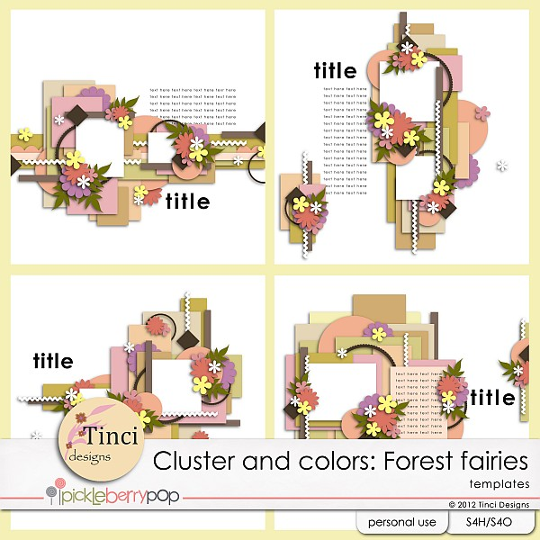 Cluster and colors: Forest fairies - November 16th Tinci_CC_Forestfairies_prev