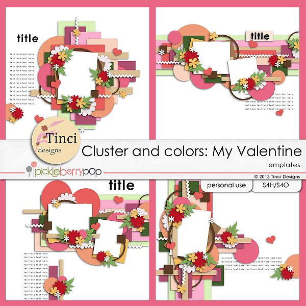 Cluster and colors: My Valentine and Day by day 5. - February 1st Tinci_CC_Myvalentine_prev_zps51856452