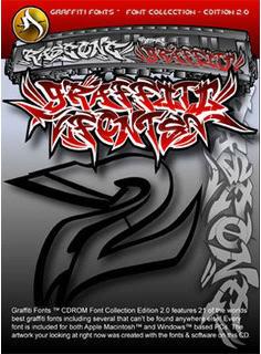 Superpack de unas 400 fuentes Grafitis [MU] GraffitiFonts