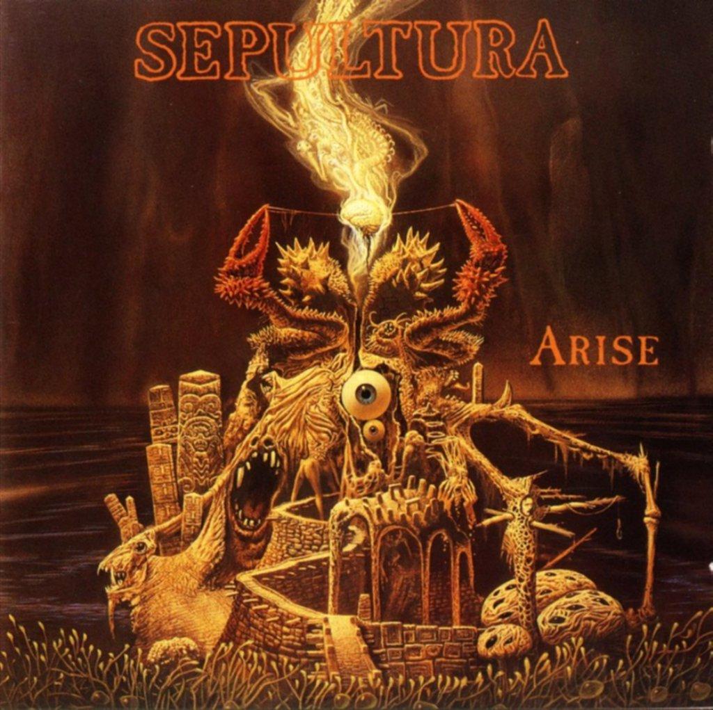 SEPULTURA-DISCOGRAFIA Arise