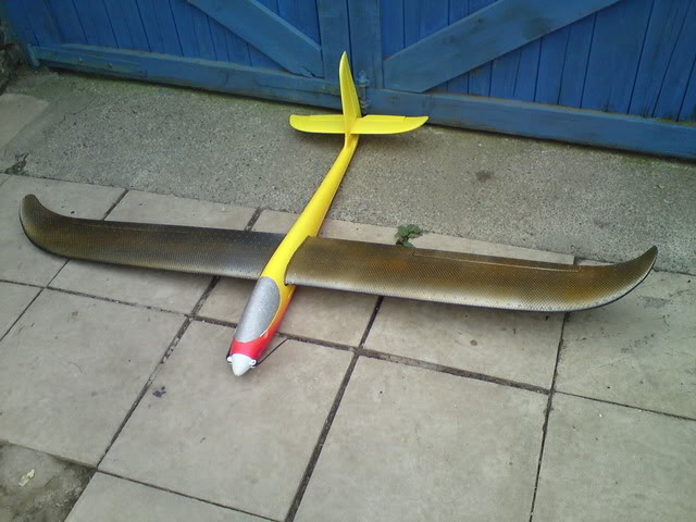 East Glider paint job EGP1