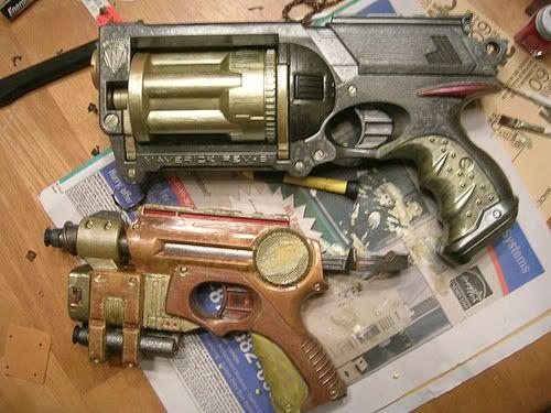 Jornadas steampunk, noviembre-diciembre 2011 - Página 3 Steampunk-nerf-guns