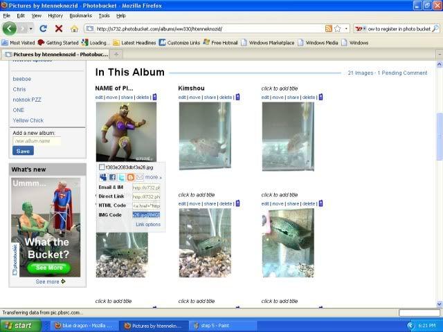 photobucket account Step6