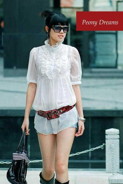 [moda] La moda en Corea AChiffon_Frill_White