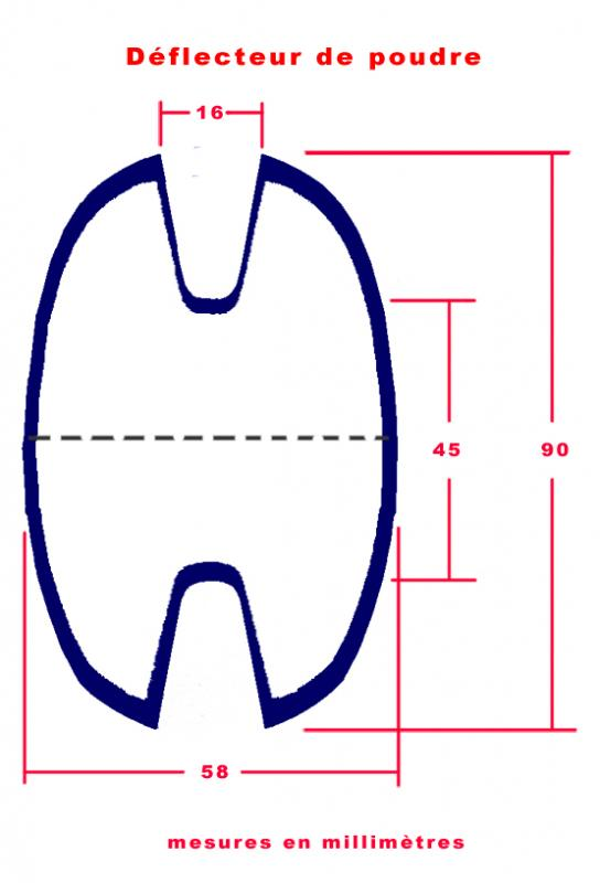 Déflecteur à poudre pour doseuse Lyman type 55 Deflecteur_zps6c7e3e44