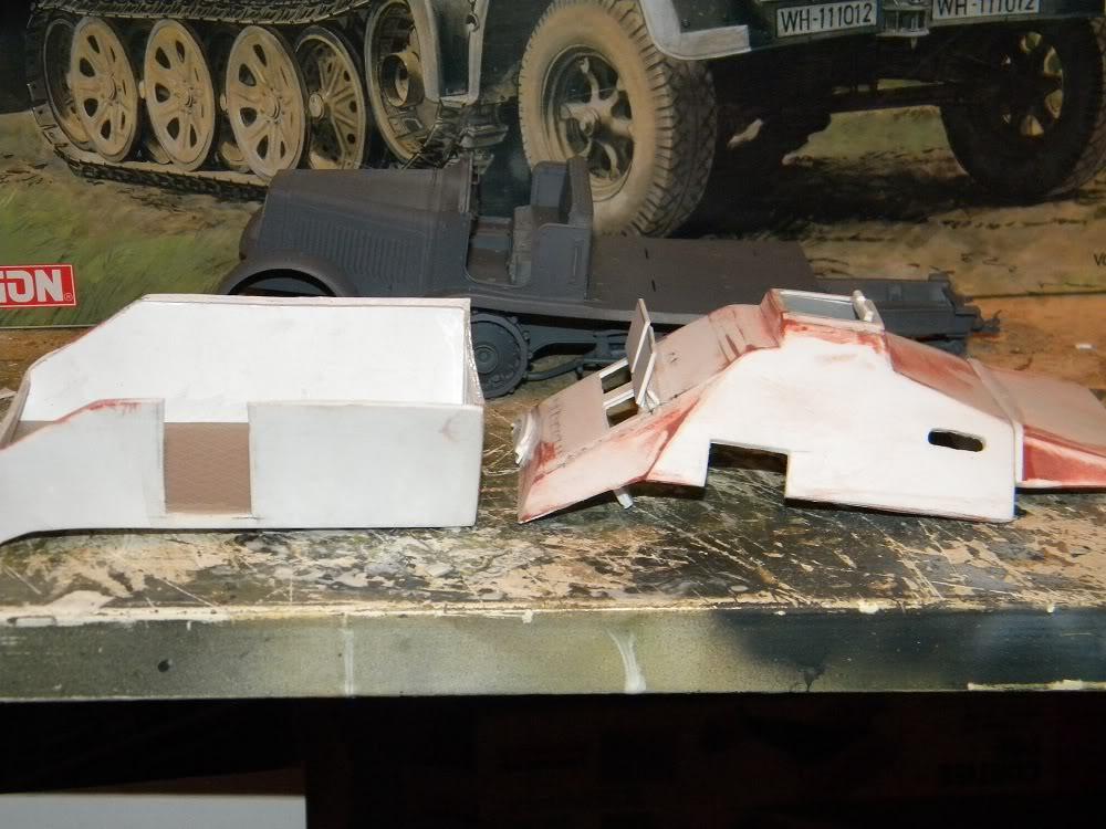 V-2 Raketen auf Zugkraftwagen 8t 088