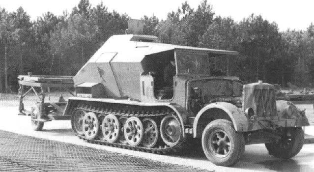 V-2 Raketen auf Zugkraftwagen 8t Feuerleitp02