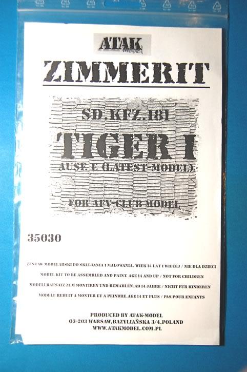 [AFV Club] - TIGER I ausf E Tiger5