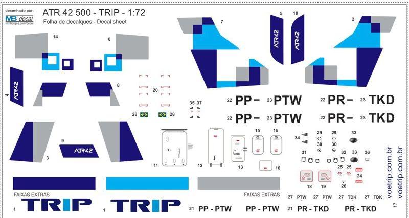 ATR 42 500 TRIP - Resina - 1:72 ATR_1_72_TRIP_07