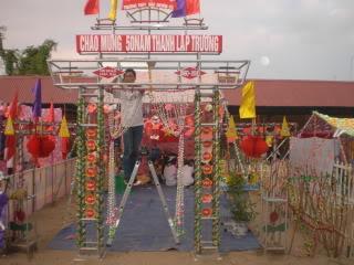 [Image]Tổng hợp cổng trại các lớp 12a3