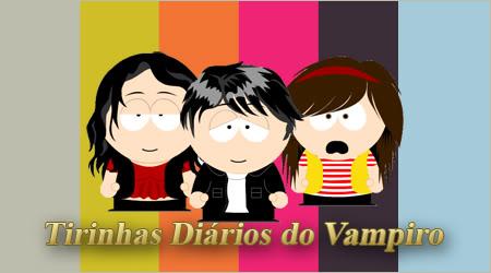 Tirinhas Diários do Vampiro Logo-1