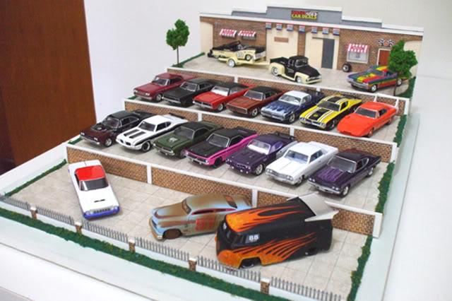 Garagem e Dioramas do Jorge Diorama1