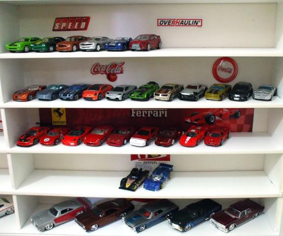 Garagem e Dioramas do Jorge Estante1