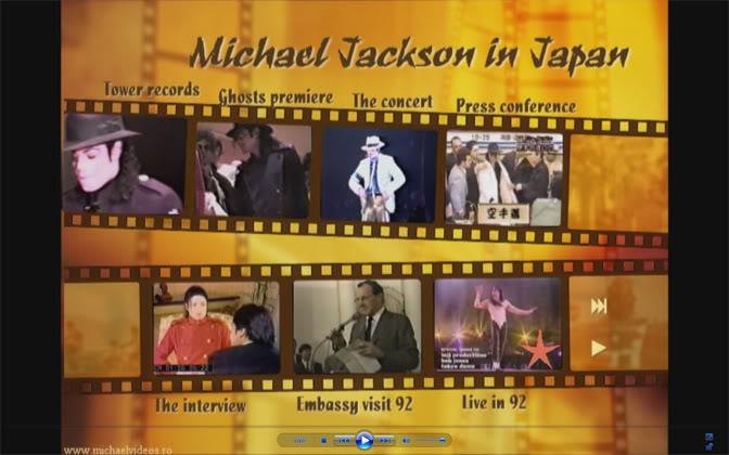 MJ in Japan 1992-1997 DVD MJinJapan92-96