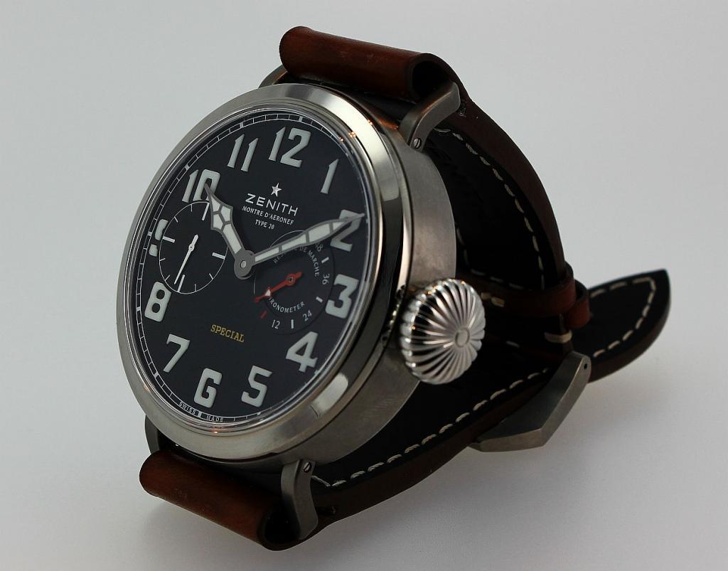 Ma petite, euh Grande, dernière : la Type 20 bracelet de Zenith   - Page 3 Zenithtype20movement6