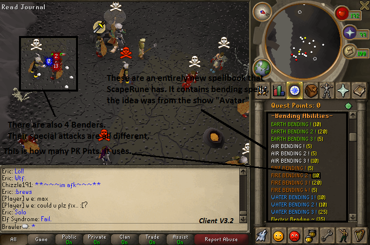 Scape 513 newest client with source Bendingspells
