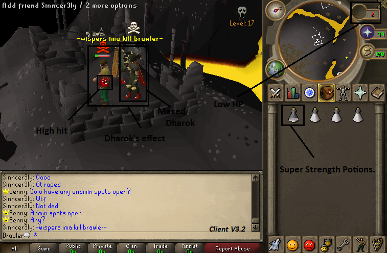 Scape 513 newest client with source Dharok